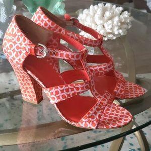 Coach heels 8.5